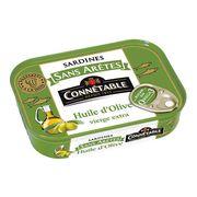 Сардины без костей в оливковом масле первого отжима экстра Connetable 140 гр, фото 1