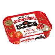 Сардины без костей в оливковом масле и томатном соусе Connetable 140 гр, фото 1