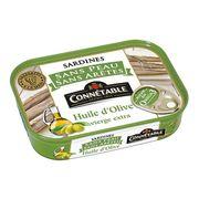 Сардины без кожи и костей в оливковом масле экстра первого отжима Genereuse Connetable 140 гр, фото 1