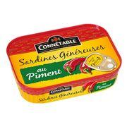 Сардины в подсолнечном масле с перцем Genereuse Connetable 140 гр, фото 1