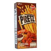 Палочки вкус Крылышки барбекю BBQ Chicken Pretz Glico 25 гр, фото 1