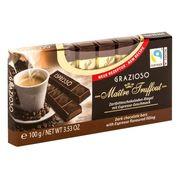 Батончики горький шоколад с начинкой вкус эспрессо Grazioso Gunz 100 гр, фото 1