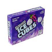 Жвачка без сахара виноград 12 кубиков Arctic Grape Ice Cubes  Ice Breakers 27,6 гр, фото 1