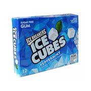 Жвачка без сахара мята 12 кубиков Peppermint Ice Cubes  Ice Breakers 27,6 гр, фото 1