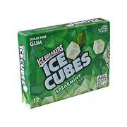 Жвачка без сахара нежная мята 12 кубиков Spearmint Ice Cubes  Ice Breakers 27,6 гр, фото 1