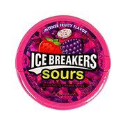 Леденцы без сахара Кислые клубника и микс ягод Sour Ice Breakers 42 гр, фото 1