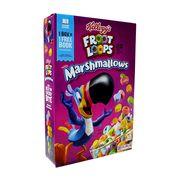 Готовый завтрак колечки с маршмеллоу Froot Loops Marshmallows Kelloggs 297 гр, фото 1