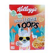 Готовый завтрак Колечки Медовые Honey Llama Loops Kelloggs 330 гр, фото 1