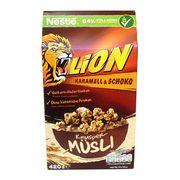 Сухой завтрак Мюсли Карамель и шоколад Lion Nestle 420 гр, фото 1