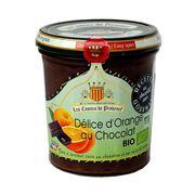 Джем Апельсин и Шоколад Рождественский деликатес Organic 350 гр, фото 1