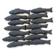 Жевательный мармелад Рыбы лакричные Dolber 100 гр, фото 1