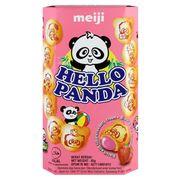 Печенье с клубничной начинкой Hello Panda Meiji 45 гр, фото 1