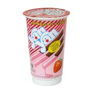 Печенье с клубничным кремом стакан Yan Yan Mini Meiji 30 гр, фото 1
