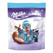 Новогодние конфеты Шоколадные шарики Bonbons Confetti Milka 86 гр, фото 1