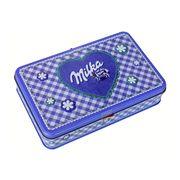 Подарочный набор наполетанов в жестяной коробке Alpin Milk Milka 184 гр, фото 1