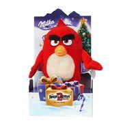 Набор плюшевая игрушка Angry Birds и шоколад Milka 83 гр, фото 1