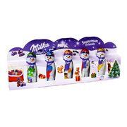 Шоколадный набор Снеговик и друзья Snowman Friends Milka 5x15 гр, фото 1