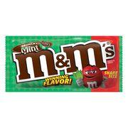 Конфеты шоколад с хрустящей мятной начинкой Crunchy Mint M&M's 80,2 гр, фото 1