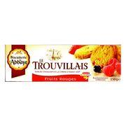 Сливочное печенье с лесными ягодами Fruits Rouges Trouvillais 150 гр, фото 1
