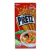 Палочки вкус супа Том Ям Tom Yum Kung Pretz Glico 23 гр, фото 1