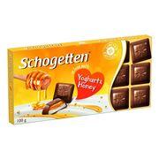 Молочный шоколад с йогуртом и медом Yoghurt and Honey Schogetten 100 гр, фото 1