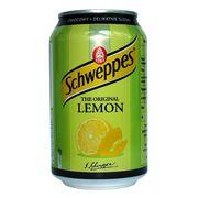 Газированная вода Lemon Schweppes 330 мл, фото 1