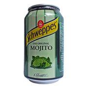 Газировка вкус мохито Schweppes Mojito 330 мл, фото 1