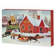 Коробка шоколадных конфет с пралине Большое ассорти Solidarnosc 388 гр, фото 1
