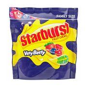 Жевательные конфеты с фруктовым соком VeryBerry Starburst 210 гр, фото 1