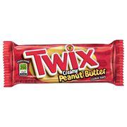 Батончик палочки с арахисовой пастой Creamy Peanut Butter Twix 47,6 гр, фото 1