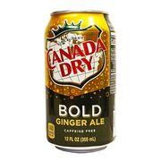 Имбирный эль Canada Dry Bold Ginger Ale 355 ml, фото 1