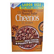 Цельнозерновые овсяные хлопья Chocolate Peanut Butter Cheerios 402 гр, фото 1