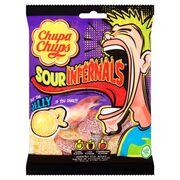 Особо кислый мармелад Sour Infernals Jelly Chupa Chups 90 гр, фото 1