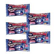 Леденец со жвачкой Вампиры Boom Vampire Super Sour Gum Fini 5 шт 25 гр, фото 1