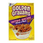 Готовый завтрак крекеры с медом Golden Grahams General Mills 331 гр, фото 1