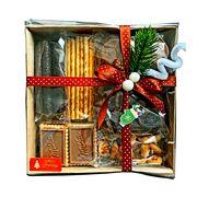 Подарочный набор печенья и вафель К чаю 500 гр, фото 1
