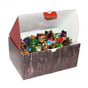 Новогодний подарок детский: короб с конфетами 1 кг, фото 1