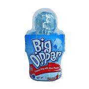 Конфетное кольцо леденец с кислым порошком Малина Big Dipper Kidsmania 30 гр, фото 1