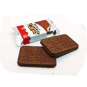 2 вафли с двойной кремовой начинкой Mini Kinder Cards Ferrero 25,6 гр, фото 1