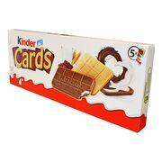 Вафли с кремовой начинкой Kinder Cards Ferrero 128 гр, фото 1