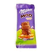Шоколад с карамельным кремом Moo Caramel Creme Milka 16 гр, фото 1