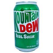 Газировка Mountain Dew Real Sugar 355 мл, фото 1