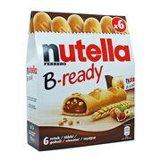 Упаковка 6 батончиков Nutella B-ready Ferrero 132 гр, фото 1