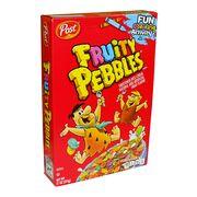 Готовый завтрак Рисовые хлопья Fruitty Pebbles Post 311 гр, фото 1