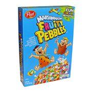 Хлопья с маршмеллоу Marshmallow Fruitty Pebbles Post 311 гр, фото 1