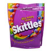 Драже вкус дикие ягоды Family Size Wild Berry Skittles 196 гр, фото 1