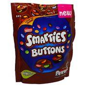 Молочный шоколад с драже Smarties Buttons Nestle 90 гр, фото 1