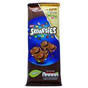 Плитка молочного шоколада с драже Smarties 90 гр, фото 1