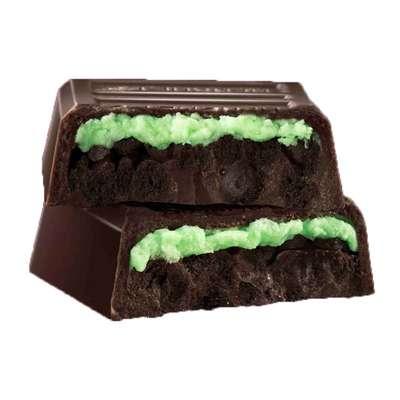Хрустящий батончик печенье и мята Hershey's Cookie Layer Crunch Mint 39 гр, фото 2