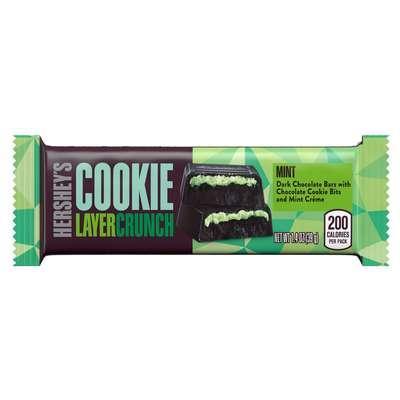 Хрустящий батончик печенье и мята Hershey's Cookie Layer Crunch Mint 39 гр, фото 1